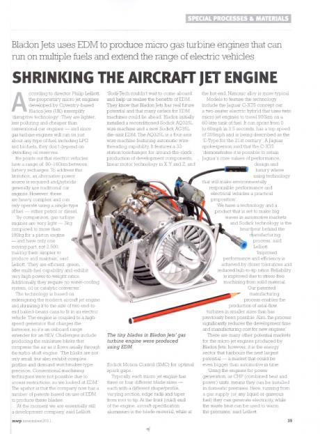 Shrinking The Aircraft Jet Engine