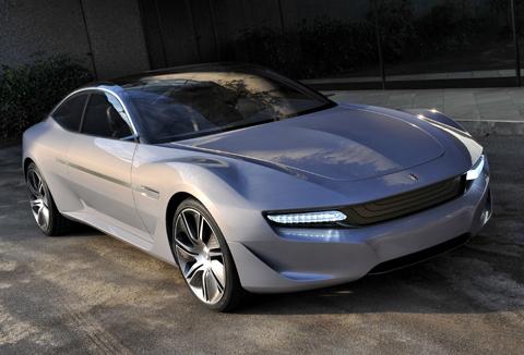 Pininfarina Cambiano concept car